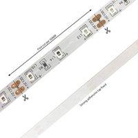 Altro sistema di illuminazione CXST LED UV Strip 12V UVA Light 395-405nm SMD2835 60LEDS / M RAY ULTRAVIOLET RAY DIODO Ribbon Viola nastro lampada per feste