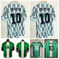 1994 1996 1998 1998 1999 Ретро футбол Джерси Окоча Starboy рубашка okechukwu dayo ojo Osas Okoro классическая футбольная форма Maillot de op