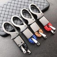 الحلي المعادن مفتاح سلسلة حلقة حاملي السيارات بو حبل حدوة حدوة الإبزيم هوك المفاتيح التصميم السيارات لوازم الملحقات