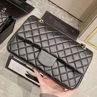 Bolsas de designer Patent Hand Bag Original Qualidade de qualidade de cordeiro Carteira de pele famosa luxo mulheres bolsa de ouro e prata cadeia feminina pacote atacado