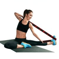 Resistance Bands Fitness Pull Strap Yoga Pilates Sports Exercise Band Elastic Ring Stretch Trainer Body Building Latin Dance