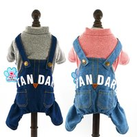 Dog Apparel Winter Pet Jumpsuit For Small Dogs Fleece Cotton Sweater Puppy Yorkie Romper Cat Clothes RQ005