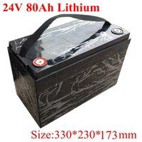 Bateria impermeável do íon do lítio de 24V 80AH 7s para a casa elétrica do motor elétrica do motor de 1500 W Hold Supplies + 10a