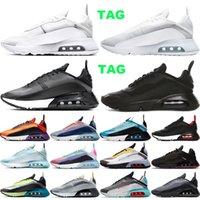 2090 Erkek Kadın Koşu Ayakkabıları Gerçek Olmak Saf Platin Aurora Yeşil Pembe Erkek Eğitmenler Chaussures Açık Spor Sneakers Boyutu 36-45