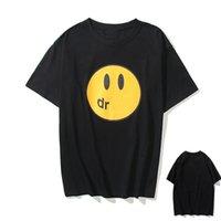 T-shirt da uomo di alta qualità, top da donna, faccina dei cartoni animati facce maniche corte, modelli di coppia Bieber Justin Bieber, personalità, tendenze della moda DR0101
