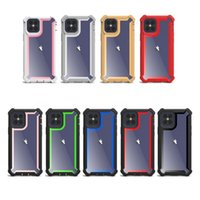 Custodia trasparente Custodia robusta robusta per iPhone 6 6S 7 8 Plus X XS XR 11 12 Pro Max Cover