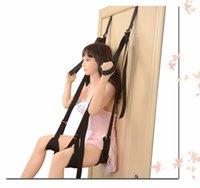 SM Bondage Gear Swing Chairs Hanging Door Sex Furniture Straps Flirting Bondage Rope BDSM Bondages Erotic X0401