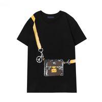 Женская футболка женские рубашки топ моды повседневные тройники напечатаны унисекс сплошные цвета топы с коротким рукавом дышащие лето 2021