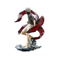 Tokyo Ghoul Artfx J Anime Modèle Kaneki Ken Action Statue PVC 23CM Collection Jouet Q0621