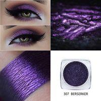 Phoera ögonskugga långvariga öga glänsande skuggor matt makeup palett vattentät lätt att färga pigment glitter