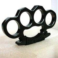 أربعة فنجر النمر الملاكمة المشبك الأكمام القانونية الدفاع عن النفس سلاح حلقة القتال اللوازم الزجاج الألياف اليد هدفين 458I702