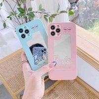 Capas de telefone celular Adequado para iPhone 12 Promax Espelho Líquido Móvel Shell Do Love Borboleta Pequena Pequena Caixa Protetora Peixe Pequena XR