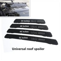Car Top Roof-Racks Windshield 34inch Long Air Deflector Universal Roof-top Cargo Box Wind Screen 34 Inch Roof Rack Fairing Sunshade