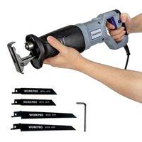 Workpro Electric Sew Compacrizione per il taglio di metallo in legno Seghe di potenza fai da te con lame