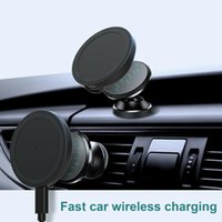 Car Wireless Charger 15W Auto -Mag Safe Magnetladegerät Schnellladepad For 12   Pro Mag Cell Phone Mounts & Holders