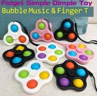 İpi Fidget Basit Dimple Oyuncaklar Kabarcık Anahtarlık Push Tahtası Stres Rölyef Dekompresyon Parmak Kabarcıklar Dnastress Topları