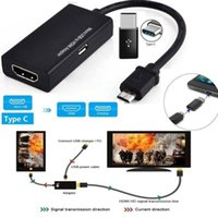 Audio Cables & Connectors Type C Micro Usb To Cable Micro-USB Male HD Converter Adapter For PC Laptop TV TV-Box And VGA