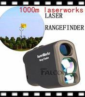 Kamery myśliwskie 1000m Golf Laser Range Finder Wodoodporny pomiar odległości Danifinder