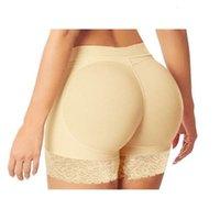 Femmes abondantes fesses Sexy culottes Sexy Buttock Backside BUM Points à bout de fesses rembourrées Améliorer Hip Up Boxers Sous-vêtements S-XL