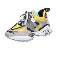 Zapatos de plataforma de lujo Mujer Causal Sneaky Zapatillas de deporte Diseñador de moda Ligero Ligero Transporte Tendenero Fondo Fondo Mujeres Vulcanized Shoes 201217