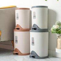 Poubelle ménagère avec couvercle cuisine salle de bains salon de pression air déodorisant goutte désodorisant des poubelles de déchets de pied