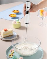 USB Electric Egg beater Blender milk whisk household Portable agitator Kitchen Cooking cream Tools LED screen