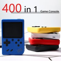 400 in 1 Handheld Video Game Console Retro 8-bit Design with 2.4-inch Color LCD and 400 Classic Games -AV Output (Cable Included) Portable Game Players