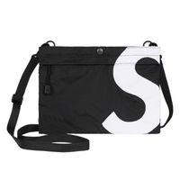 S 어깨 가방 메신저 야외 배낭 학교 가방 Unisex Fanny Pack 패션 여행 양동이 핸드백 허리 가방