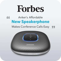 Anker PowerConf Bluetooth Speakerphone conference speaker with 6 Microphones Enhanced Voice Pickup 24H Call Time