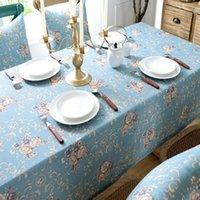 테이블 천으로 인쇄 된 코튼 린넨 패브릭 커튼 식탁보 DIY 퀼트 재봉 플레이스 매트, 가방 소재 90x90cm