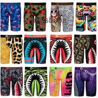Tasarımcı Ethika Baskı Erkekler Boxers Iç Çamaşırı Spor Eşofmanları Hızlı Kuru Pantolon Popüler Plaj Tayt Moda Erkekler Swim Sandılar Sıcak Satmak 813