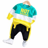 Spring Baby Girl Boys Clothing Infant Clothes Suits Casual Sport Cotton T Shirt Pants 2PCS Sets Kid Child Toddler Tracksuits 211025