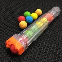 100pcs mousse Boule à billes Balles de recharge rival Nerf jouet pistolet en plein air Amélioration de la pratique PU ronds balles pour garçons FY9381