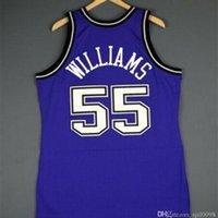 Benutzerdefinierte 009 Jugendfrauenweinlese Jason Williams Mitchell Ness 98 99 College Basketball Jersey Größe S-6XL oder benutzerdefinierte Name oder Nummer Jersey