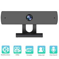 Webcams HD Computer PC Webcam 1080P WebCamera With Microphone Rotatable Cameras For Live Broadcast Video Calling Conference Work