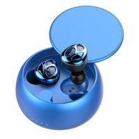 Headphones & Earphones FMJ D09 Slider Wireless Bluetooth Tws 5.0 Charging Box Gaming Earbud With Microphone
