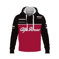 Automne et hiver F1 Alfa Romeo Racing Formula Un homme à manches longues Femmes Sports Extreme Extreme Sports hors route