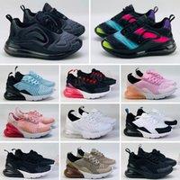 Crianças de bebê Correndo Tênis 2021 Almofada Crianças Juventude Meninos Meninas Atacado Ao Ar Livre Crianças Sneakers 24-35