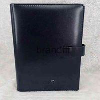 Lyx Branding Läder Cover Notepads Agenda Handgjorda Notebok Klassisk Notebook Periodisk Dagbok Avancerad Design Business Presenter