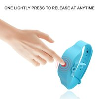 Wristband Hand Cleanser Dispenser Wearable Squizzy Cleansing Refillable Portable Bracelet For Kid Adult Liquid Soap