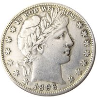 US 1896 P S O Barber Half Dollar Craft Silver Plated Copy Coins Brass Ornaments home decoration accessories