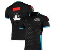 F1 Fans Series Racing Team Uniform T-Shirt Summer Round Neck Shirt Camicia Cultura Star Star Maglia da uomo a maniche corte