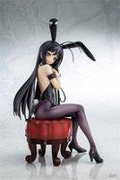 20cm Anime Accel Dünya Seksi Rakamlar Kuroyuki Hime Tavşan Kız Ver. Seksi PVC Action Figure Koleksiyon Model Oyuncak Y0726