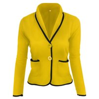 Korean Women Suit Jacket Crop Office Wear Ladies Coat Long Blazer Plus Size Blazers And Jackets Feminino Women's Suits &