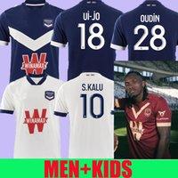 Maillot Gironlins De Bordeaux 140. Yıldönümü Ben Arfa Futbol Formaları Özel Seri 2020 2021 Maillot De Ayak Ev Erkekler Çocuk Futbol Gömlek Tops
