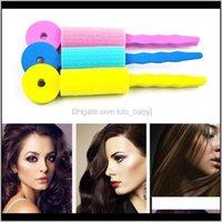 3 pçs / set Cuidados Magic Sponge Soft Twist Curler Styling Rollers de Cabelo Alavancagem DIY Ferramentas para mulheres Magique Wizji Clumaq