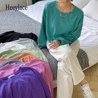 Women's Hoodies & Sweatshirts Women 2021 Spring Autumn Pullovers Oversized Fashionable Korean Jumper Wild Short Tops
