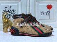 2021 Moda Homens Sapatos Esportivos Luxo Marque Homens High-Top Sneakers Clássico G Baixo Casual Apartamento Ao Ar Livre Zapatillas Driving Sapato Mens