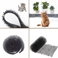 Portadores de gato, casas de caixas jardim scat tapetes anti-gato fitas de pilha manter longe SPIKE de plástico segura 2m JS22