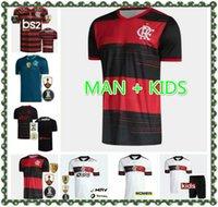 20 21 Flamengo 9 Gabriel B. Futbol Formaları 14 de Arrascaeta 10 Diego Vinicius JR Gerson 7 E.Ribeiro 2021 Erkek Futbol Gömlek